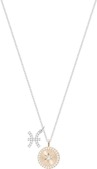 Swarovski Slušivý náhrdelník Ryby ZODIAC 5349219