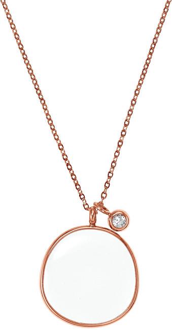 Skagen Bronzový náhrdelník s príveskom SKJ0567791