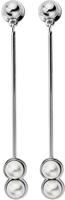 Skagen Dlouhé náušnice s perličkami SKJ1017040