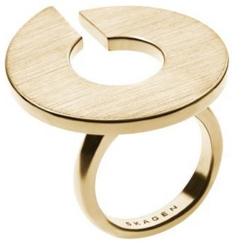 Skagen Exkluzivní zlatý prsten SKJ0624710 56 mm