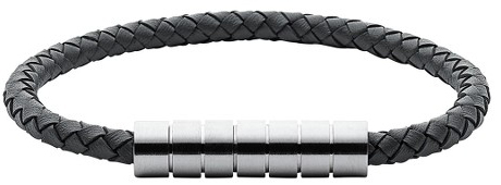 Skagen Pánský kožený náramek SKJM0112040