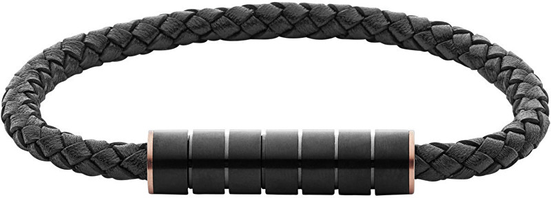 Skagen Pánský kožený náramek SKJM0113998