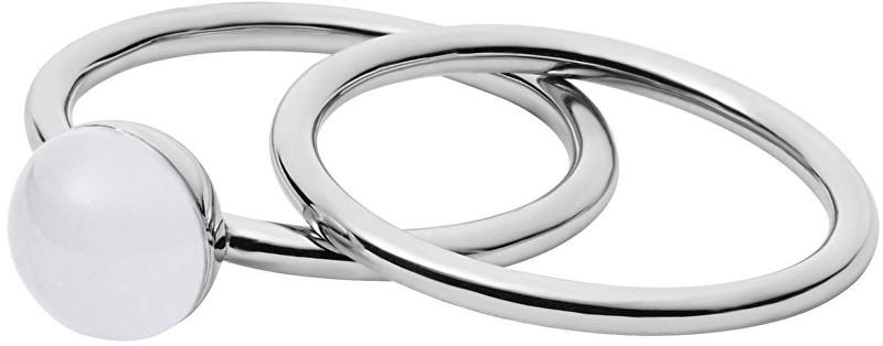 Skagen Sada dvou prstenů SKJ0970040 57 mm