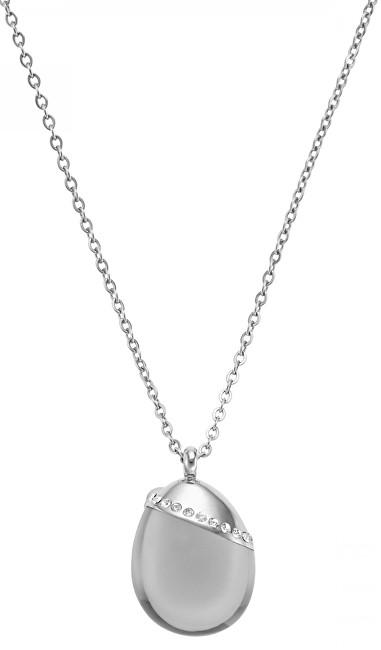 Skagen Jemný ocelový náhrdelník s přívěskem SKJ0176040