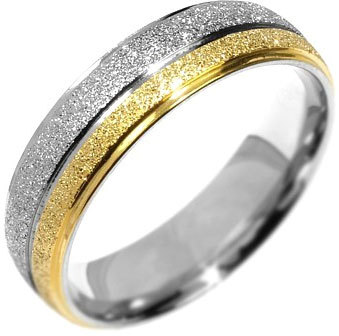 Silvego Snubný oceľový prsteň Flers RRC0365 60 mm