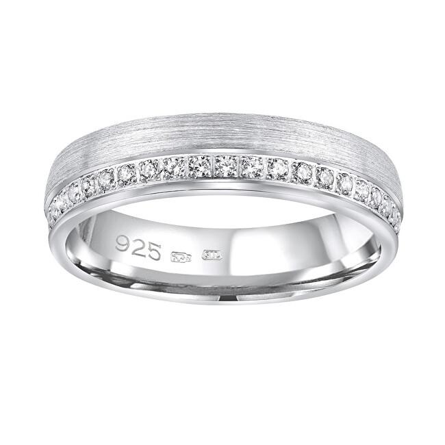 Silvego Snubný strieborný prsteň Paradise pre ženy QRGN23W 55 mm