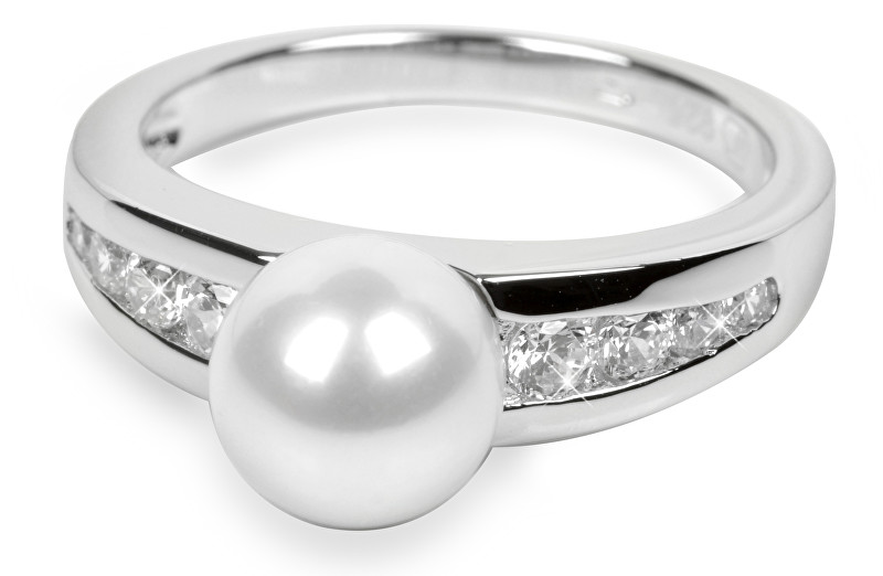 Silver Cat Stříbrný prsten s krystaly SC076 - SLEVA