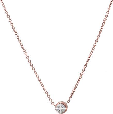 Scream Bronzový náhrdelník s krystalem SR181