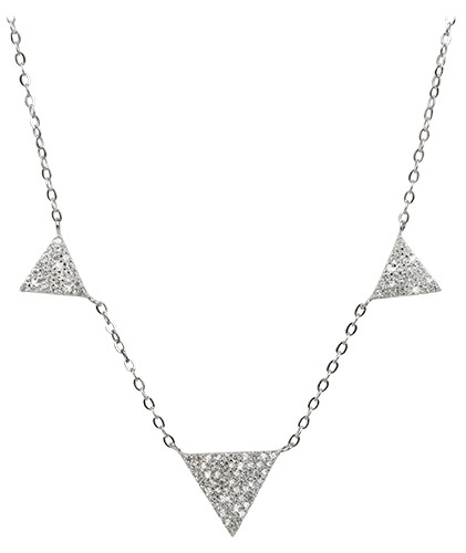 Selilya Silver Stříbrný náhrdelník SNJ10