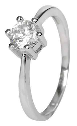 Selilya Silver Stříbrný zásnubní prsten SRJ35 54 mm
