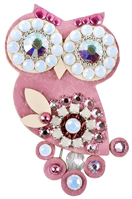 Sovičky Ochelari mici ovale întuneric roz