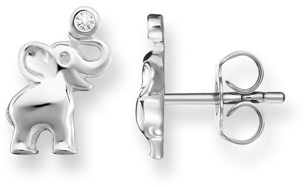 Thomas Sabo Stříbrné náušnice Sloni H1878-051-14