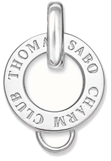 Thomas Sabo Strieborný krúžok na prívesky X0016-001-12