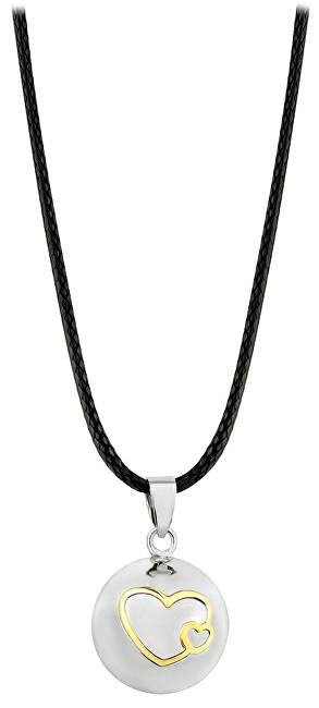 Těhotenská rolnička Dámský náhrdelník Rolnička srdíčka BS20