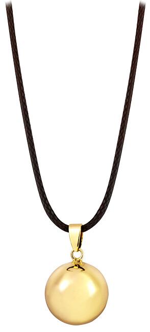 MUMMY BELL-Těhotěnská rolnička Pozlacený náhrdelník Rolnička AZ20