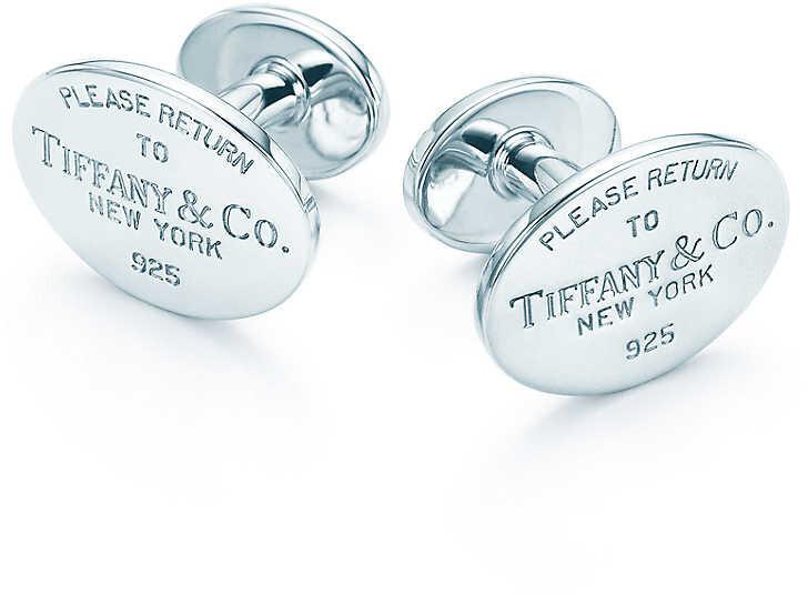 Tiffany & Co. Manșete din argint 14266089 + ambalaj original