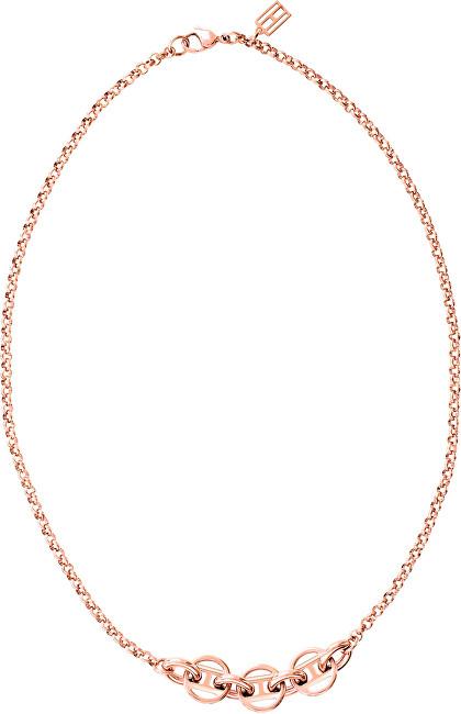 Tommy Hilfiger Colier de damă în culoarea aurului roz TH2700633