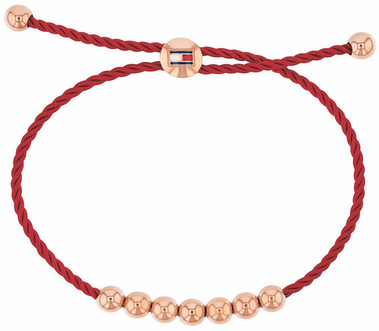 Tommy Hilfiger Brățară de moda cu aur roșu cu margele TH2780004