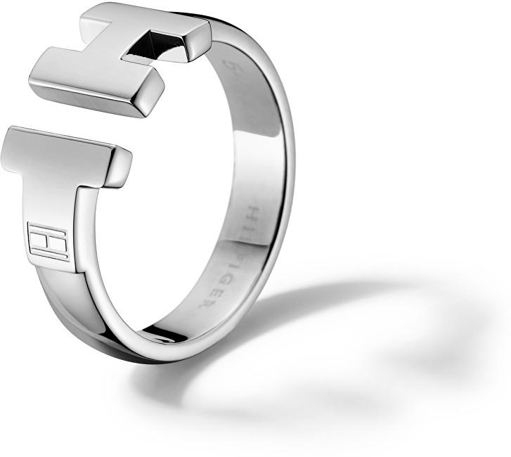 Tommy Hilfiger Luxusní ocelový prsten TH2700864 56 mm