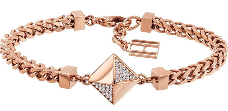 Tommy Hilfiger Divatos bronz karkötő nőknek TH2780092