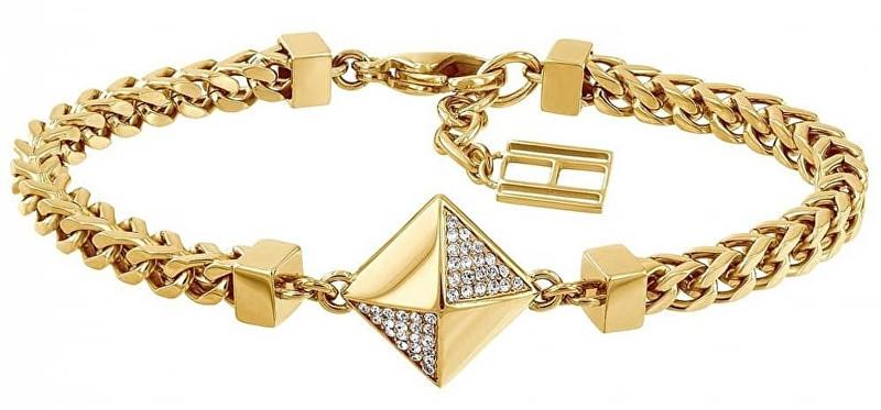 Tommy Hilfiger Divatos arany karkötő nőknek TH2780091