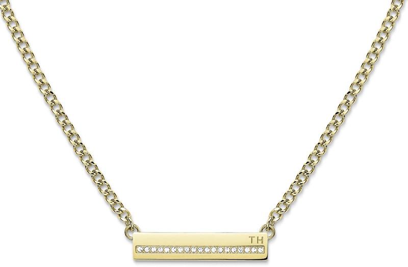 Tommy Hilfiger Něžný náhrdelník s krystaly TH2700919