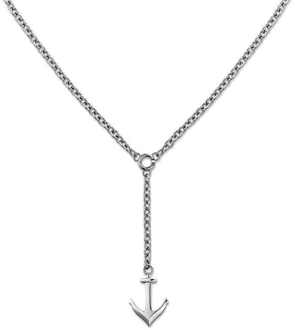Tommy Hilfiger Ocelový náhrdelník s kotvou TH2700921