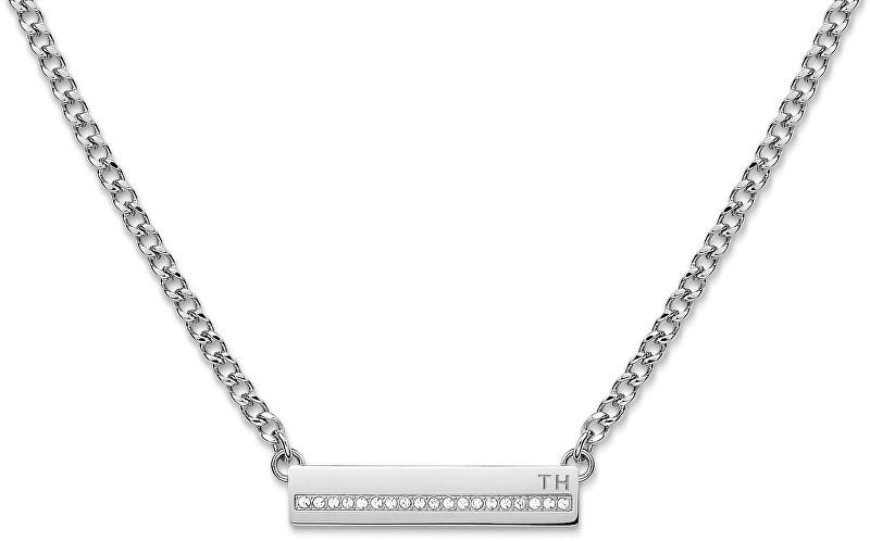 Tommy Hilfiger Ocelový náhrdelník s krystaly TH2700918