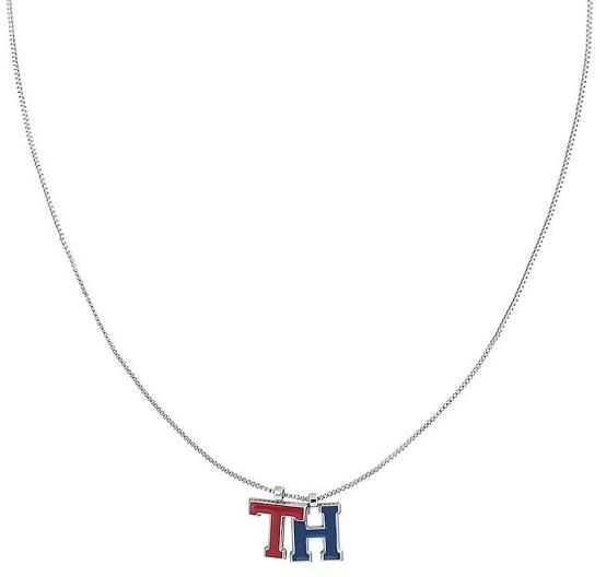 Tommy Hilfiger Ocelový náhrdelník s přívěskem TH2780095