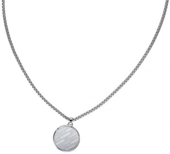 Tommy Hilfiger Ocelový náhrdelník s přívěskem TH2790037