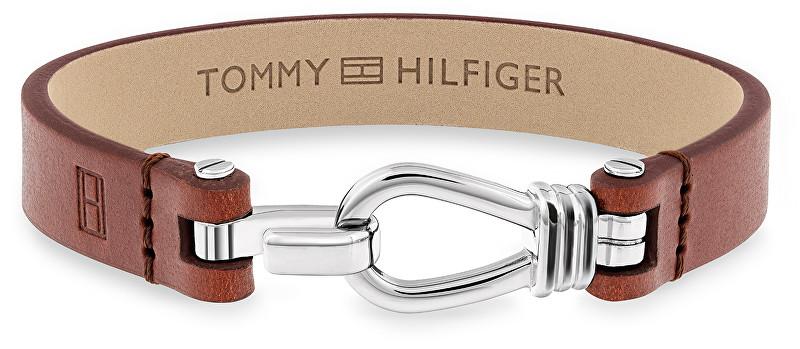 Tommy Hilfiger Brățară din piele pentru bărbați TH2701054