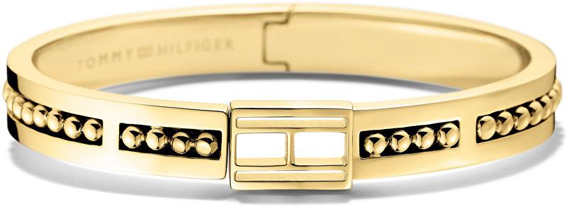 Tommy Hilfiger Pevný zlatý náramek TH2700846