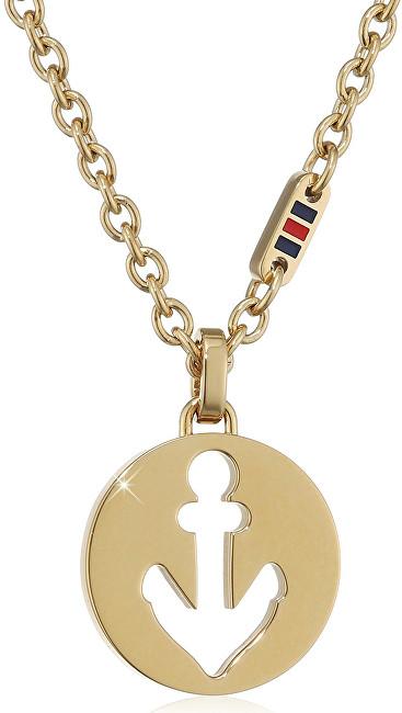 Tommy Hilfiger Pozlacený náhrdelník pro ženy TH2700928