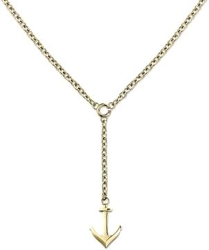 Tommy Hilfiger Pozlacený náhrdelník s kotvou TH2700922