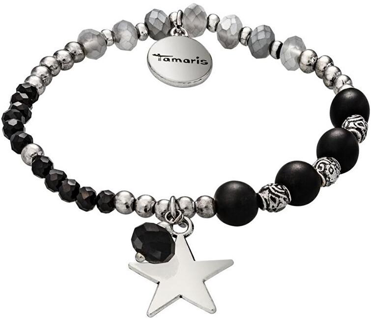 Tamaris Náramek Tamaris Babsy silver black TF006