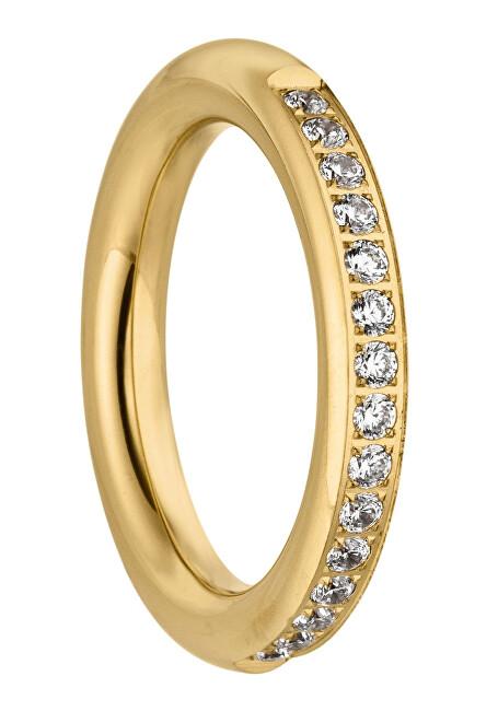 Tamaris Pozlacený prsten Emily se zirkony TJ171 54 mm