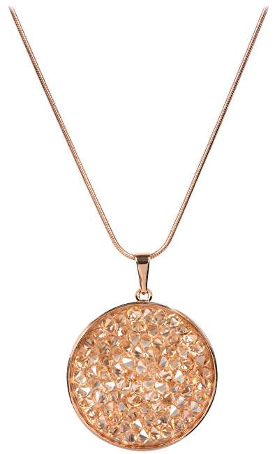Troli Bronzový náhrdelník Rocks CROCK25SNRG Golden Shadow 86a3fbc116b
