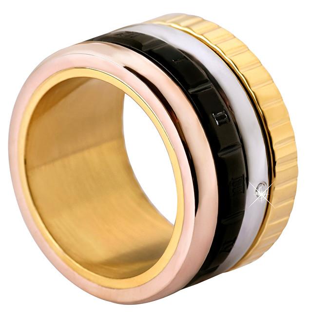 Troli Čtyřbarevný ocelový prsten 50 mm