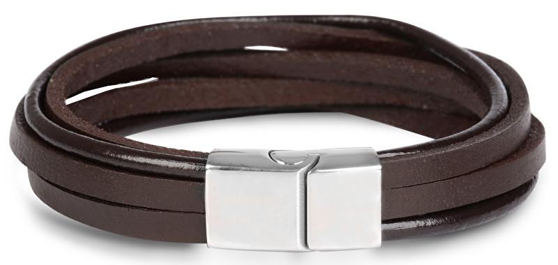 Troli Brățară din piele maro Leather