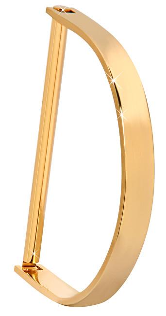 Troli Luxusní pozlacený pevný náramek TO2298