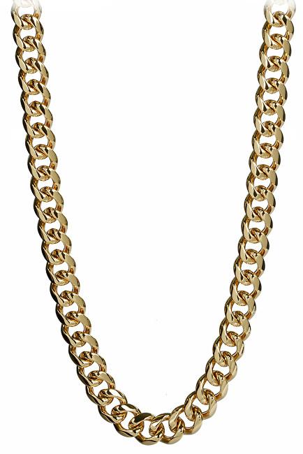 Troli Masivní pozlacený náhrdelník