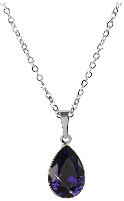 Troli Náhrdelník Pear 14 mm Purple Velvet