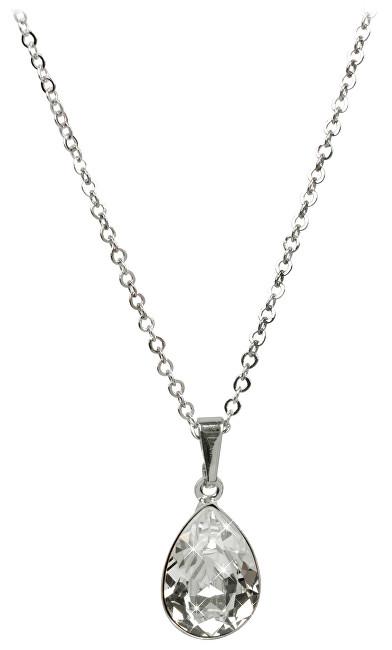Troli Náhrdelník Pear C432014SFLRH Crystal