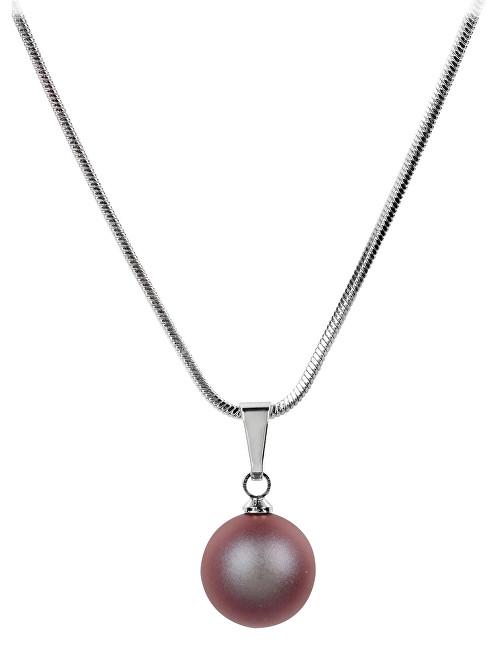 Troli Náhrdelník Pearl Iridescent Red