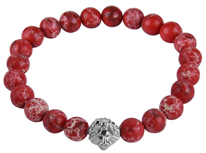 Troli Náramek z červených korálků