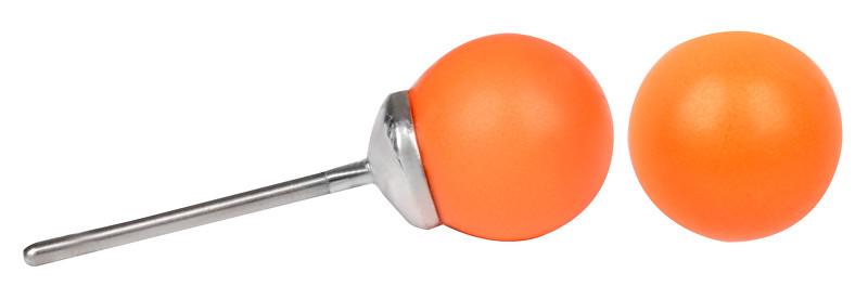 Troli Náušnice Pearl Neon Orange