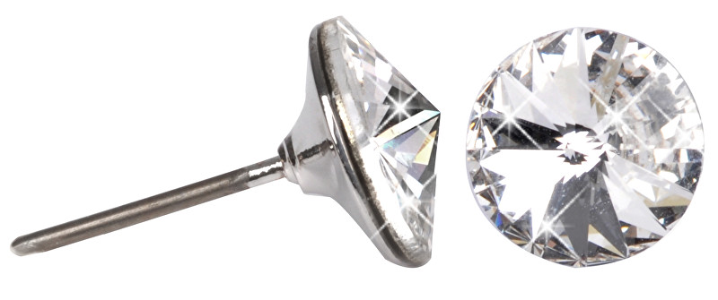 Troli Náušnice Rivoli 8 mm Crystal