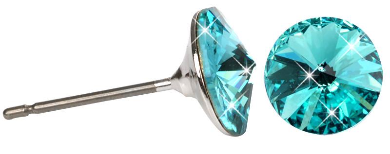 Troli Náušnice Rivoli 8 mm Light Turquoise
