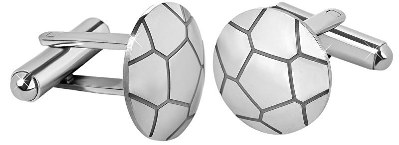 Troli Ocelové manžetové knoflíčky Fotbalový míč