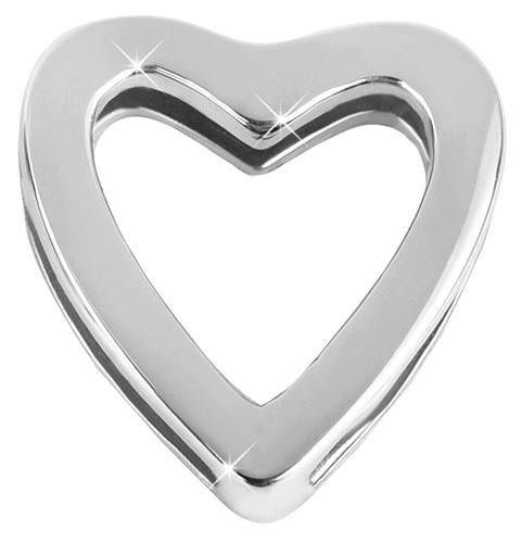 Troli Ocelový navlékací přívěsek Srdce Unique